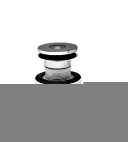 Siphon pour vasque avec trop-plein XS PURE - Gedimat.fr