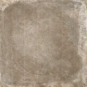 Décor pour sol en grès cérame coloré dans masse naturel rectifié REDEN dim.60x60cm coloris biscuit - Gedimat.fr
