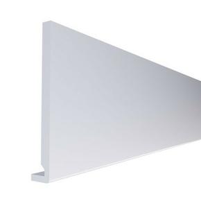 Planche de rive PVC cellulaire à clouer ép.16 mm larg.200 mm long.4 m Blanc - Gedimat.fr