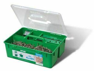 Kit pour terrasse bois resineux SPAX GREEN A2 - 4,5x60mm - Gedimat.fr