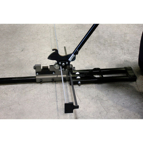 Guillotine à rails et montants de 48mm et tiges filetées de 6mm - Gedimat.fr