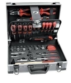 Mallette à outils aluminium 110 pièces qualité pro CR-V - Gedimat.fr