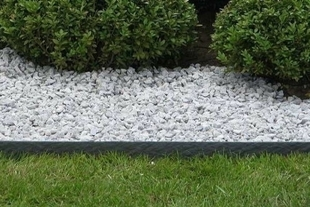 Bordure ECOLAT rigide L.200cm x H.14cm x P.1cm Coloris gris ardoise - Gedimat.fr