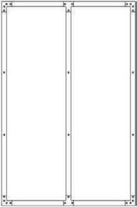 Verrière acier MECANICA haut.1,20m larg.79cm - Gedimat.fr