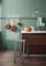 Carreau mural Vert sage SLASH en grès cérame 7,5x30cm - Gedimat.fr