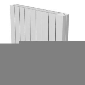 Radiateur OROSI Long.73,70cm Haut.58,50cm Ép.13cm coloris Blanc 1500W SAUTER - Gedimat.fr