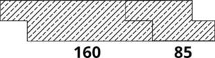 Bardage Epicéa ép.18mm larg.85mm long.4,50m Traitement autoclave Classe 3.1 Rustique - Gedimat.fr