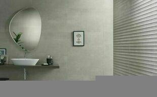 Carrelage murs TEX faïence mate rectifiée 30cmx90cm Ép.11,3mm modèle Plissé beige - Gedimat.fr