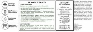 Peinture meuble à base de caséine gris flamand  - pot 0,5l - Gedimat.fr