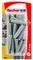 Cheville nylon SX NV+collerette - 8x40mm - blister de 20 pièces - Gedimat.fr