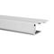 Profilé de bordure clipsable ép.15 mm larg.38 mm long.4 m blanc - Gedimat.fr