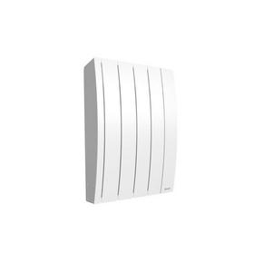 Radiateur à inertie fluide IPALA modèle Horizontal Long.43,5cm Haut.58,7cm Ép.14,5cm coloris Blanc 500W - Gedimat.fr