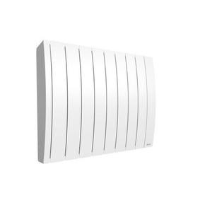 Radiateur à inertie fluide IPALA modèle Horizontal Long.75,7cm Haut.58,7cm Ép.145 cm coloris Blanc 1500W - Gedimat.fr