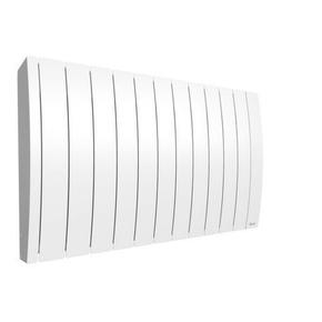 Radiateur à inertie fluide IPALA modèle Horizontal Long.75,7cm Haut.58,7cm Ép.145cm coloris Blanc 2000W - Gedimat.fr
