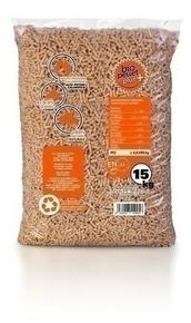 Granulés de bois BIO PLUS pour poêle à pellets sac de15kg - Gedimat.fr