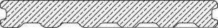 Lame de terrasse Composite co-extrudée Atmosphère ép.23mm larg.180mm long.4m Brun Rio - Gedimat.fr