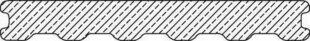 Lame de terrasse Composite co-extrudée Atmosphère ép.23mm larg.180mm long.4m Brun Lima - Gedimat.fr