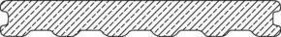 Lame de terrasse Composite co-extrudée Atmosphère ép.23mm larg.180mm long.4m Gris Belem - Gedimat.fr