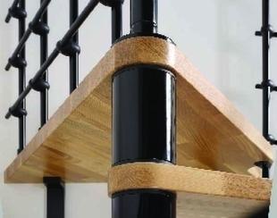 Escalier modulaire OAK XTRA en kit colimaçon diam.130cm - Gedimat.fr