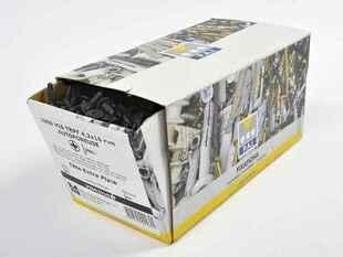 Vis TRPF tête extra plate noire 16X4,2mm - boîte de 1000 pièces - Gedimat.fr