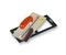 Platoir lame courbe inox poignée plastique ép.0,6 mm larg.12cm long.28cm - Gedimat.fr