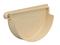 Fond de naissance à coller gauche pour gouttière PVC de 25 coloris sable - Gedimat.fr