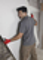 Gant tous travaux coloris Rouge et Gris Taille 10 - Gedimat.fr