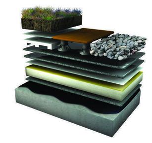 Isolant mousse polyuréthane sous étanchéité EFIGREEN DUO dim.60x60cm ép.60mm - Gedimat.fr