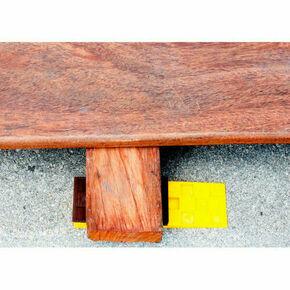 Cales crantées pour la pose de planchers et terrasses en bois - boite de 245 pièces - Gedimat.fr