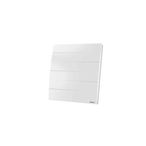 Radiateur à inertie sèche MALAO Haut.60,7cm larg.63,5cm Ép.14,5cm coloris Blanc 1000W SAUTER - Gedimat.fr