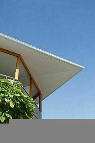 Lambris sous face PVC extérieur Long.4,00m larg.250mm utile Ép.10mm (264,5 hors tout) Coloris blanc - Gedimat.fr