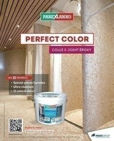 Joint époxy pour la réalisation de joints de 2 à 15 mm résistants à l'eau PERFECT COLOR coloris anthracite sac de 5kg - Gedimat.fr
