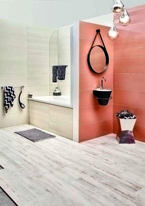 Miroir style barbier ARCHI diam.40cm coloris Noir - Gedimat.fr