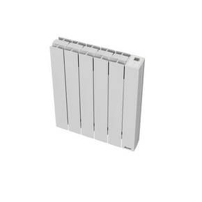 Radiateur OROSI Long.49,50cm Haut.58,50cm Ép.13cm coloris Blanc 1000W SAUTER - Gedimat.fr
