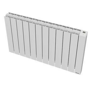 Radiateur OROSI Long.97,80cm Haut.58,50cm Ép.13cm coloris Blanc 2000W SAUTER - Gedimat.fr