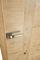 Porte seule poignée coquille - tire-doigt et condamnation  SIGNATURE BOIS AUTHENTIQUE âme pleine coloris bi-matière haut.2,04m lar.73cm - Gedimat.fr