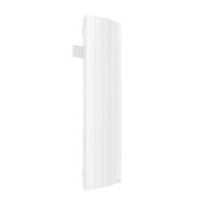 Radiateur à inertie fluide IPALA modèle Vertical Long.42cm Haut.159cm Ép.12,3cm coloris Blanc 1500W - Gedimat.fr