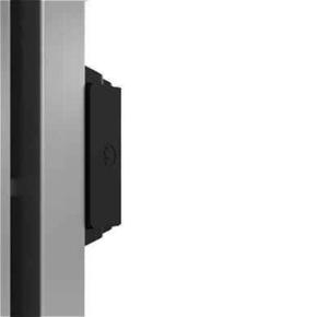 Radiateur MALAO Vertical à inertie fonte + façade chauffante Long.63,5cm Haut.60,7cm Ép.14,5mm coloris Gris acier 1000W - Gedimat.fr