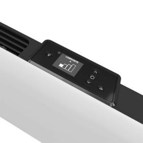 Radiateur HEKLA modèle Plinthe coloris Blanc 1000W SAUTER - Gedimat.fr