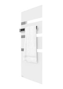 Radiateur sèche-serviettes ALUTU music mat gauche coloris Blanc 1750W SAUTER - Gedimat.fr