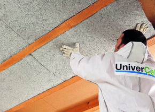 Bio sourcé UNIVERCELL PANNEAU 1,20x0,60m Ep.45mm - R=1,15m².K/W - Gedimat.fr