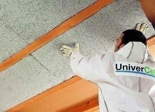 Ouate de cellulose en panneau UNIVERCELL CONFORT ép.60mm larg.0,60m long.1,20m - Gedimat.fr