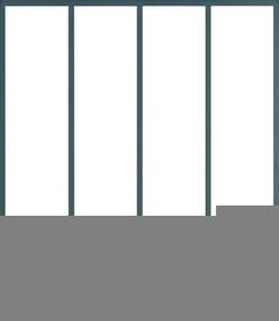Kit d'habillage verrière aluminium finition noir 2100 sablé Haut.1,198m larg.78,2cm - Gedimat.fr