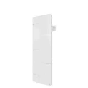 Radiateur MALAO Vertical à inertie fonte + façade chauffante Long.47,4cm Haut.132,5cm Ép.14,2mm 1500W - Gedimat.fr