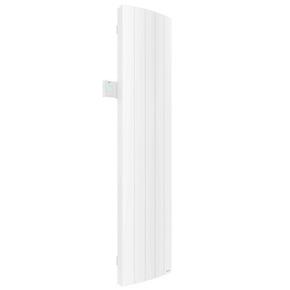 Radiateur à inertie fluide IPALA  modèle Vertical Long.42cm Haut.180cm Ép.12,3cm coloris Blanc 1800W - Gedimat.fr