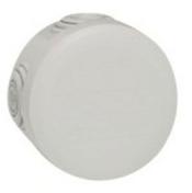 Boîte de dérivation LEGRAND PLEXO étanche ronde diam.70mm haut.45mm coloris gris - Modulaires - Boîtes - Electricité & Eclairage - GEDIMAT