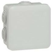 Boîte de dérivation LEGRAND PLEXO étanche carrée 65x65mm haut.40mm coloris gris - Tuile châtière CANAL coloris paysage - Gedimat.fr