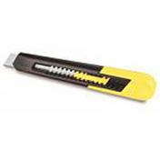 Cutter corps matière synthétique lame 18mm - Plaque de plâtre standard PREGYPLAC BA13 ép12,5mm larg.1,20m long.2,50m - Gedimat.fr