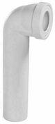Pipe d'évacuation WC coudée longue diam.100mm entraxe 395mm - Laine de verre en panneau TP238 revêtu kraft ép.85mm larg.60cm long.1,35m - Gedimat.fr