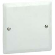Couvercle pour boîte d'encastrement carrée LEGRAND BATIBOX maçonnerie dim.80x80mm 1 poste blanc - Tableau électrique nu SCHNEIDER ELECTRIC 3 rangées 39 modules - Gedimat.fr